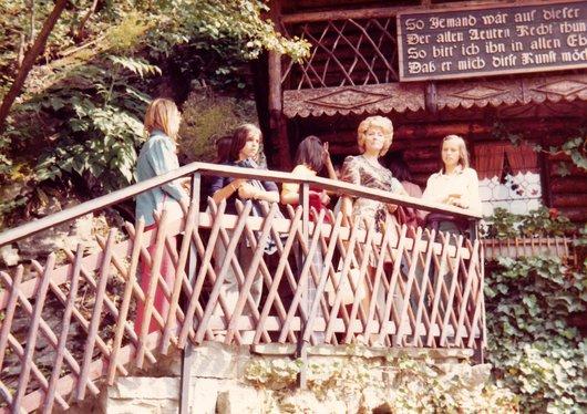 Promenade d'école en 1974