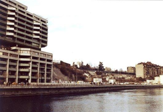 Quai du Seujet  1981