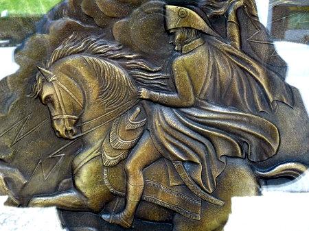 Médaillon offert par la France à la Commune de Bourg-St-Pierre