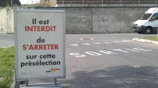 Rue du cilo station service Renens
