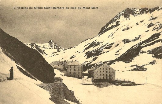 Hospice du Gd-St-Bernard et Mont Mort