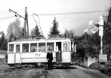 Le Tram CCB à Planchamp-dessus