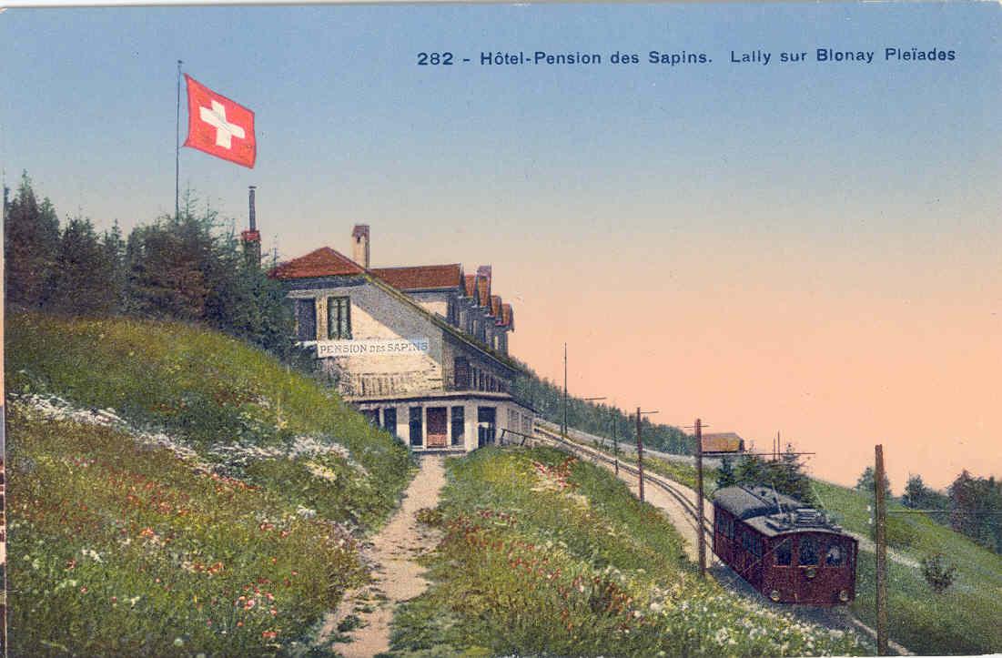 Hôtel Pension des Sapins, Lally, Blonay