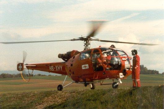 Hélicoptère de sauvetage REGA Hôtel-Yankee