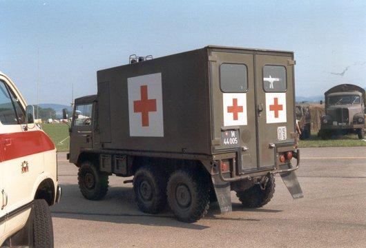 Ambulance militaire en 1991