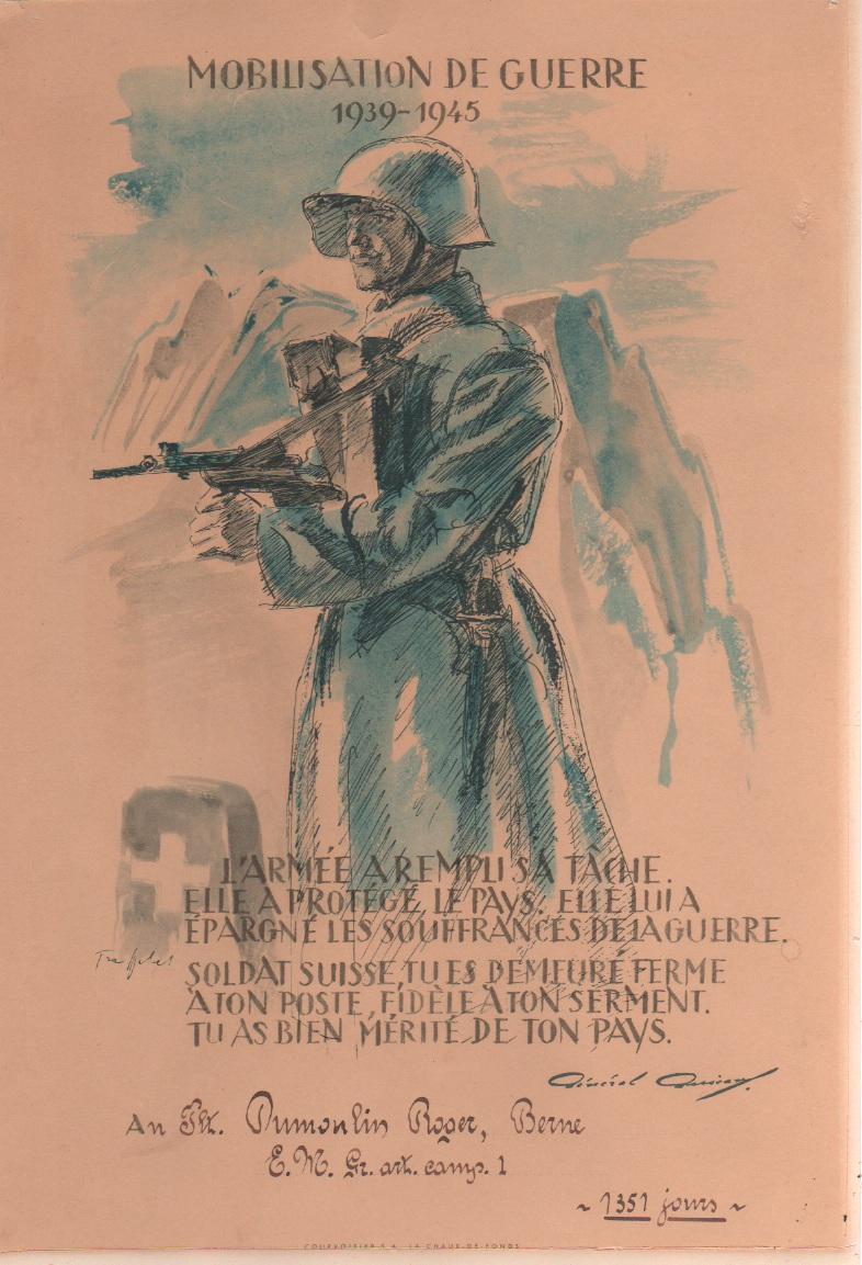 Mobilisation 1939-1945