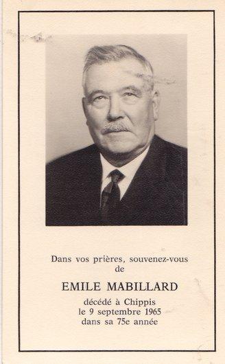 Emile Mabillard