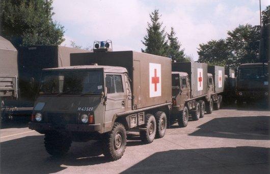 Ambulance militaire en 2005
