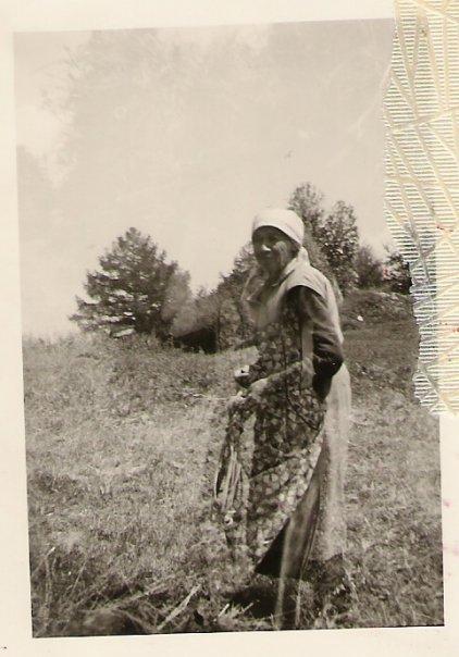 Tante Marie Bender au Plan-du-Moulin
