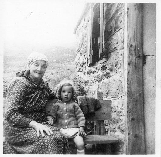 Florine Cajeux et Martine à Sornio
