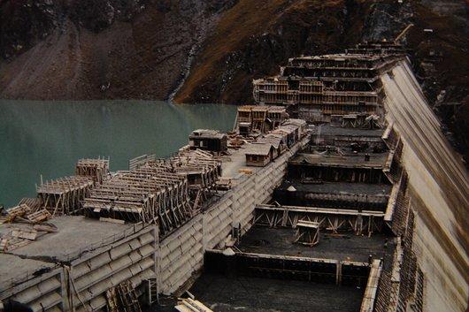 Le barrage de la Grande-Dixence