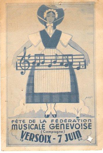 Fête musicale genevoise 1936