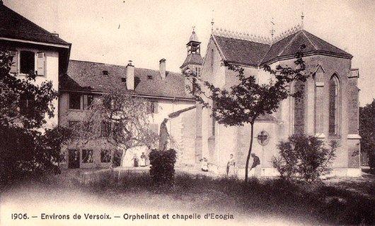 Orphelinat et chapelle d'Ecogia