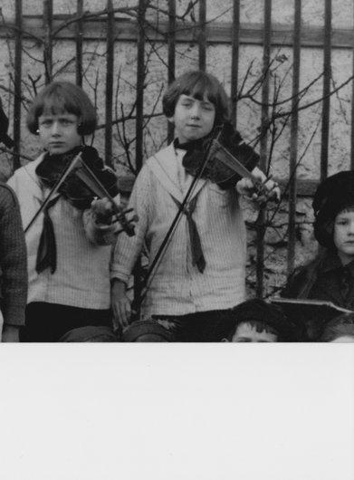 Sont-ils nés avec un violon collé au menton ?...