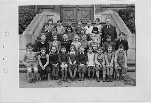 Classe de M. Viret, Ecole Normale Lausanne