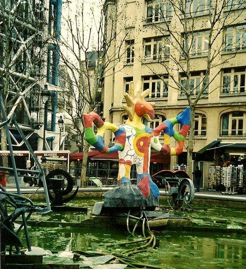 Paris - Fontaine Stravinski
