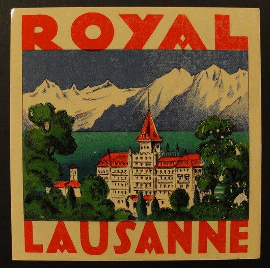 Royal Hôtel Lausanne