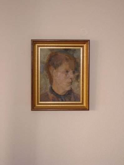 Portrait de notre mère peint par Albert Chavaz