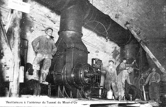 Le tunnel du Mont d'Or