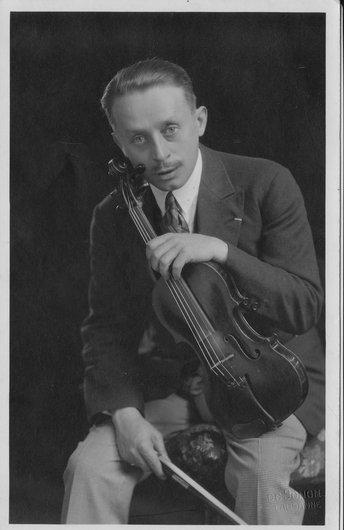 José Porta, professeur de violon de Georges et Victor Desarzens