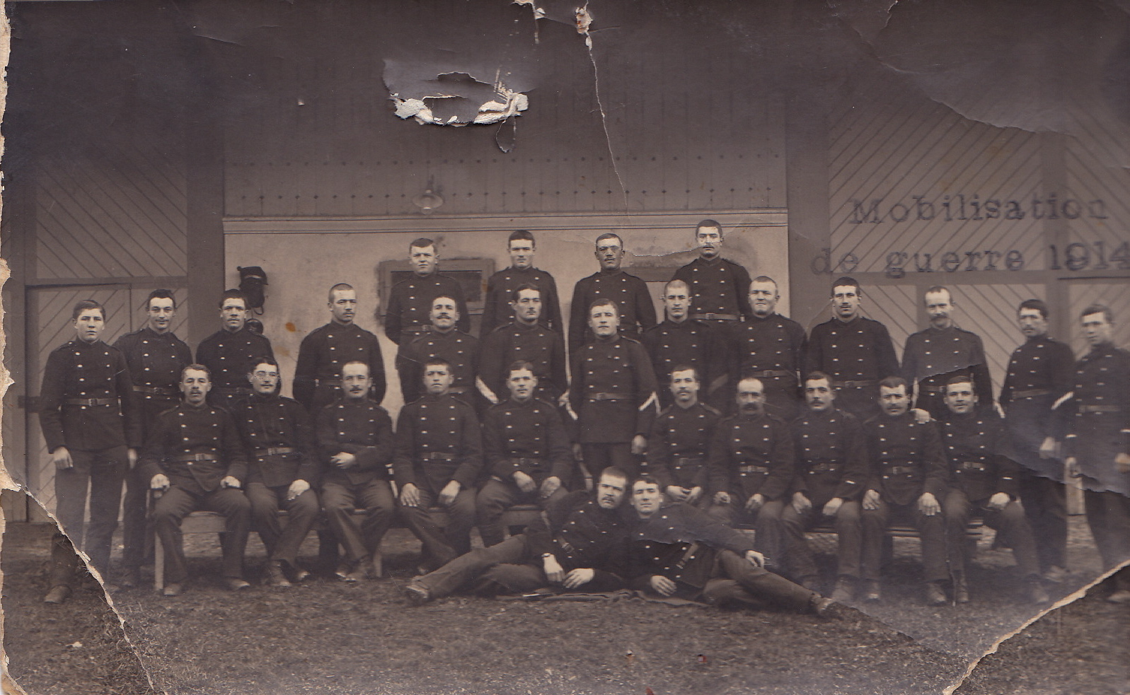 Mobilisation de guerre 1914