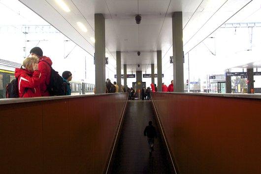 La gare de Viège