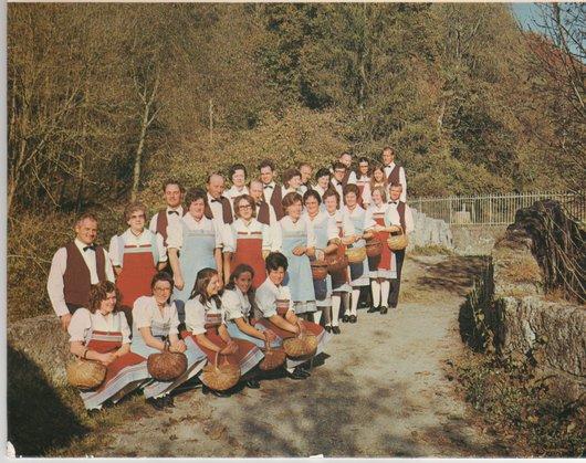 Chanson des 4 Saisons de Corminboeuf (env. 1976)