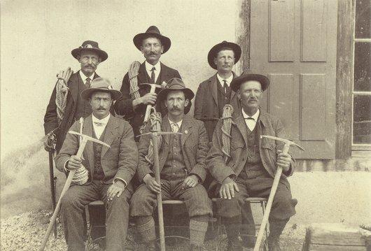 Les Guides de Zinal, 1914