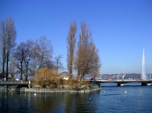 Genève Ile Rousseau