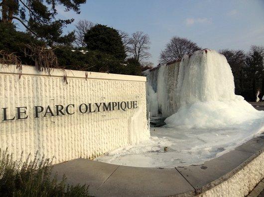 Fontaine du Musée Olympique