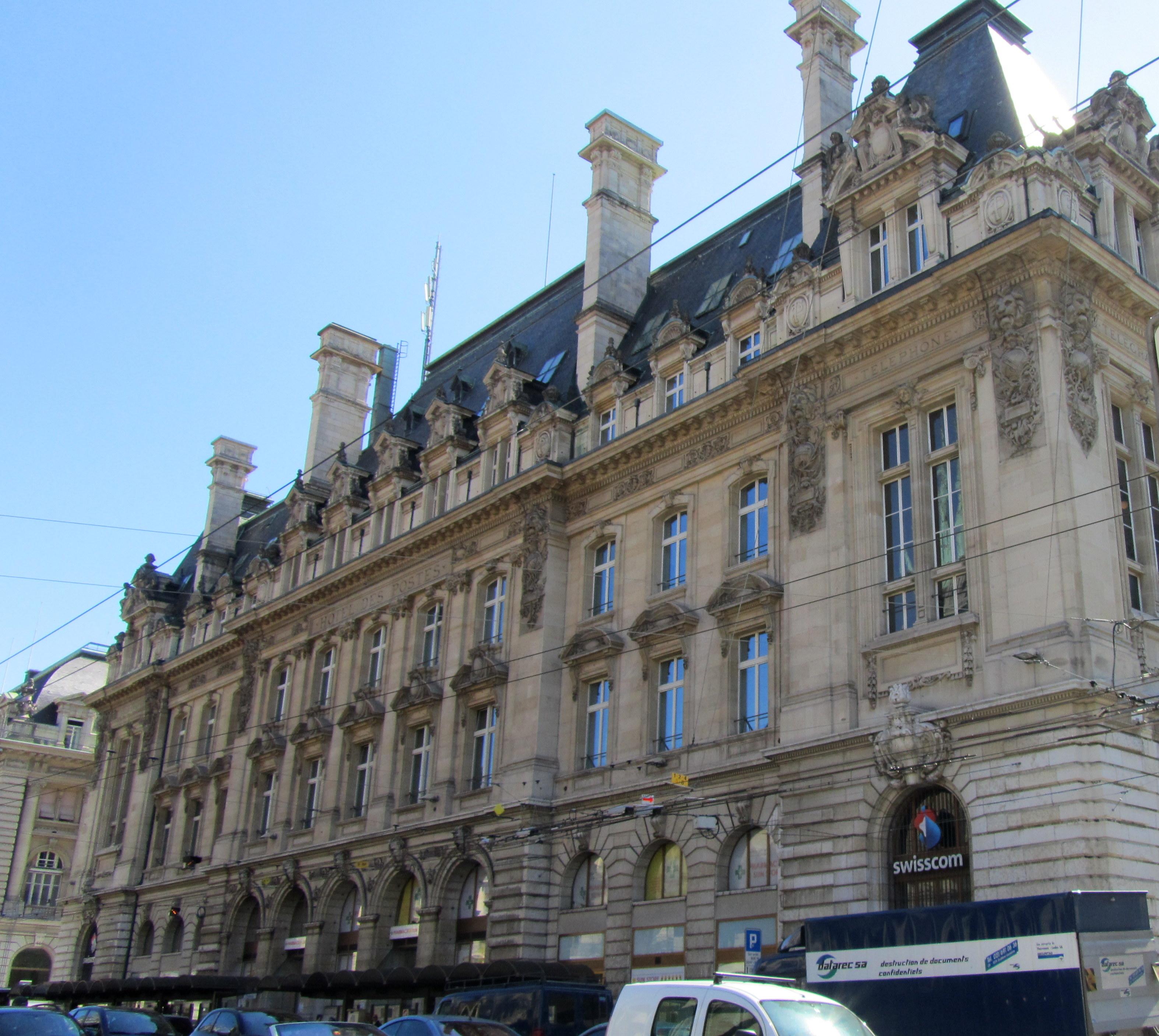 Lausanne Hôtel des postes
