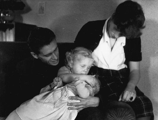Victor et Louky Desarzens; naissance d'Isabelle ma petite soeur