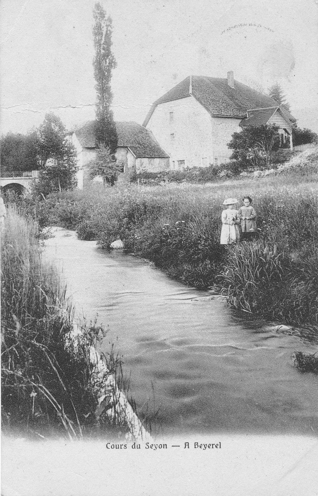 Moulin de Bayerel au bord du Seyon