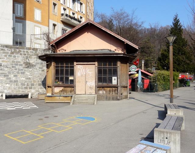 Vestiges - Funiculaire du Lausanne-Signal