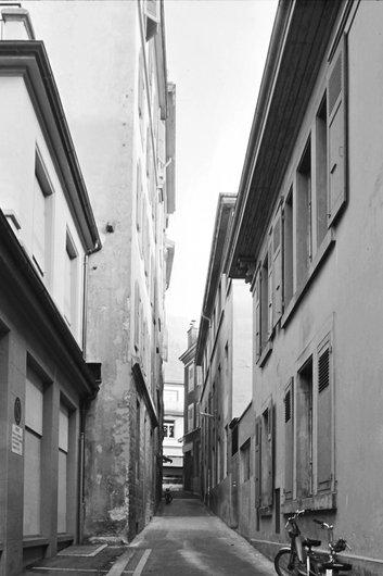Ruelle du quartier de l'ancienne douane à Montreux