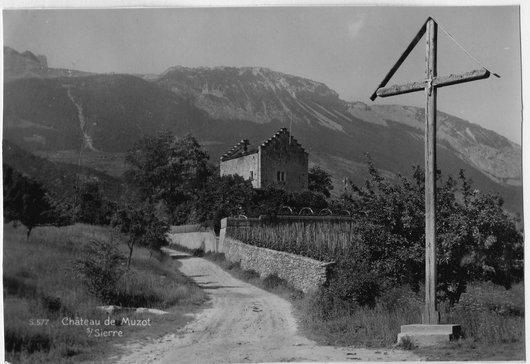 Victor Desarzens au Château de Muzot, la mémoire de Rilké