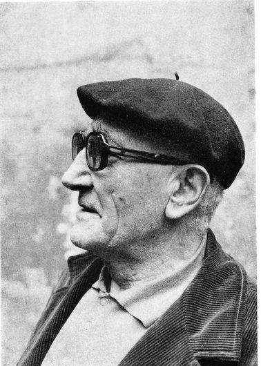 Jean Osouf sculpteur, ami de Victor Desarzens