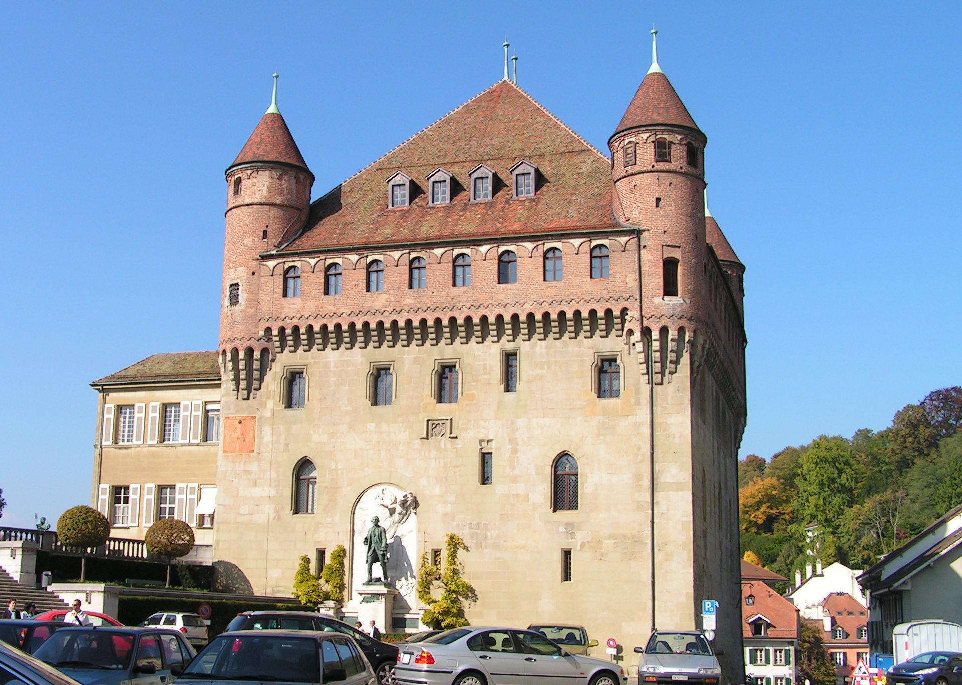 Lausanne-Cité Château Saint-Maire