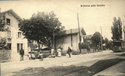 Bellevue vers 1901-1904