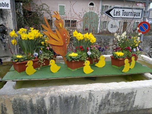 Fontaine à Borex
