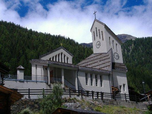Blatten Lötschental Eglise catholique
