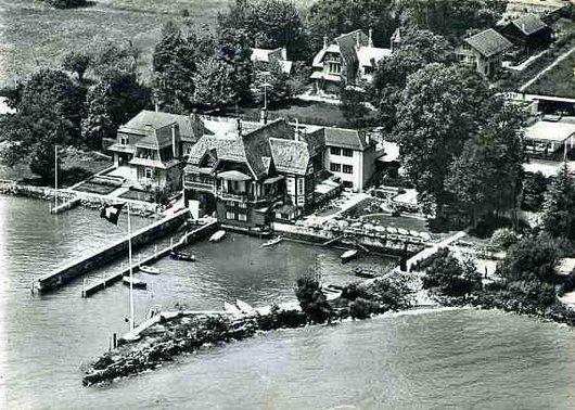 Port Gitana vue aérienne