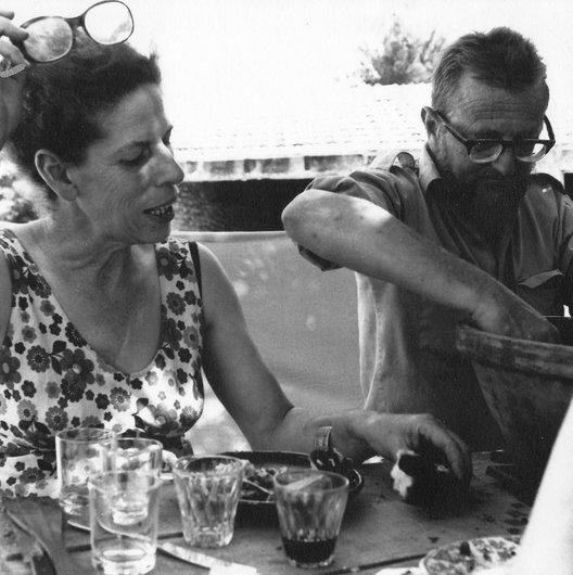 Jean-Claude Hesselbarth avec Louky Desarzens