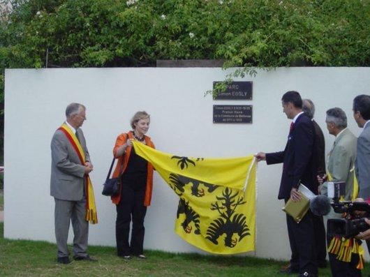 Inauguration parc Simon Eggly