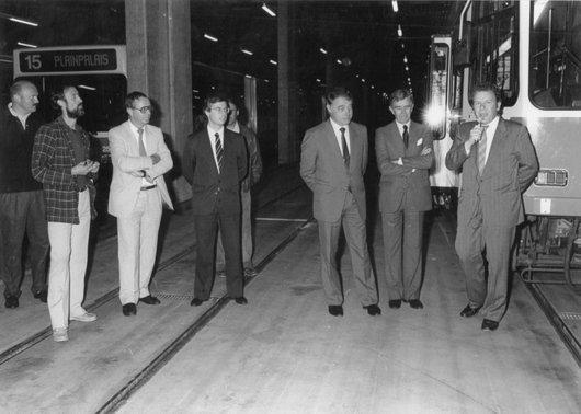 Inauguration tram Bellevue 1988 13