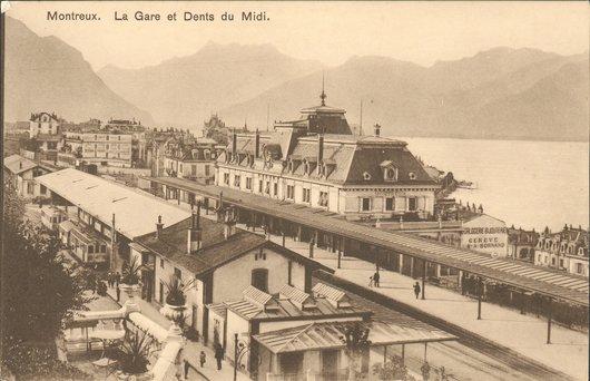 Gare de Montreux