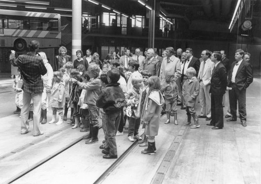 Inauguration tram Bellevue 1988 14