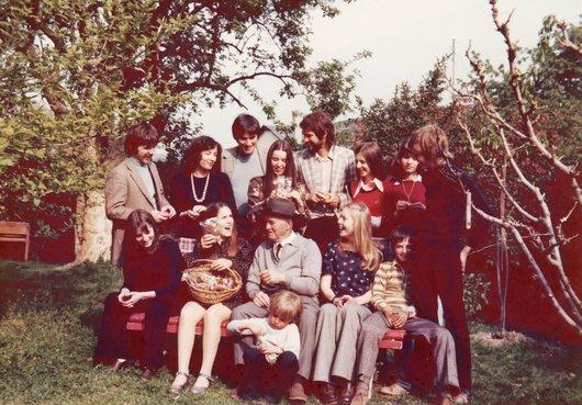 Pâques en famille
