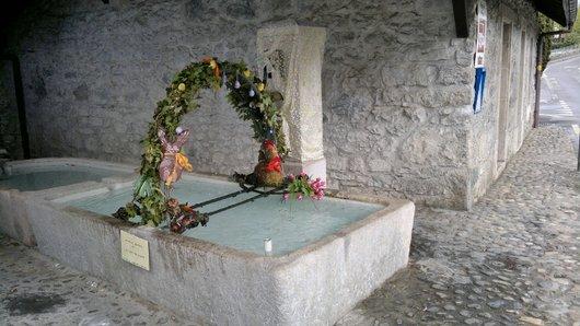 Fontaine à Prangins