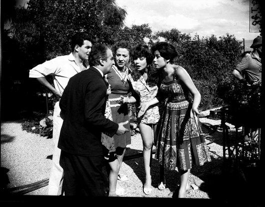 Louis de Funes Port Gitana Bellevue 13 août 1959 tournage